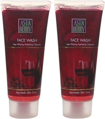 Astaberry Wine Face Wash - Pack of 2 Face Wash