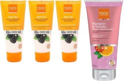 VLCC Mandarin&tamato,Anti tan Skinlightining Face Wash