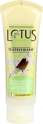 Lotus Tea Tree & Cinnamon Anti Acne Oil Control Face Wash