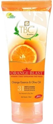 TBC by Nature Orange Blast  Face Wash