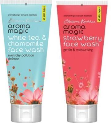 Aroma Magic White Tea & Chamomile ,Strawberry Face Wash