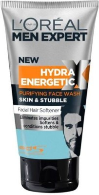 L,Oreal Paris men expert skin & stubble face & beard wash Face Wash