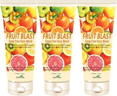 Lass Naturals Fruit Blast Face Wash Combo ( Set of 3 ) Face Wash