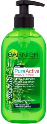 Garnier Pure Active Wasabi Power Gel Wash (Made In UK) Face Wash