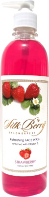 Silk Berry Strawberry  Face Wash
