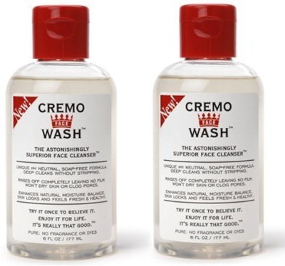 Cremo Cream Face Wash 2 Pack Face Wash