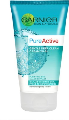 Garnier Pure Active Deep Clean Cream Wash Face Wash