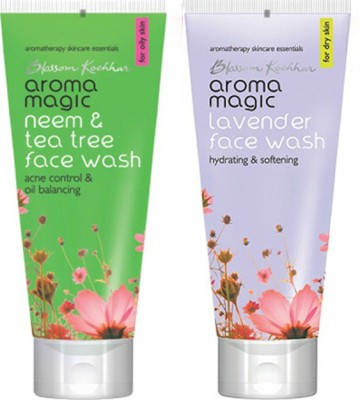 Aroma Magic Neem And Tea Tree , Lavender Face Wash