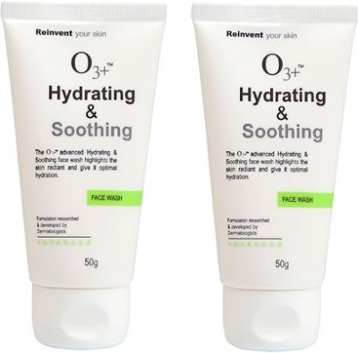 O3+ Hydrating & Soothing ( Pack of 2 ) Face Wash