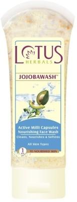 Lotus Jojobawash Active Milli Capsules Nourishing  Face Wash