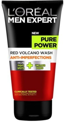 L,Oreal Paris Red Volcano Face Wash