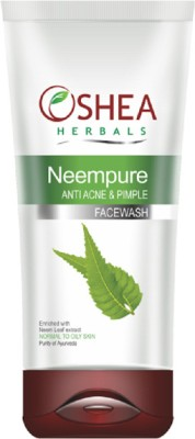 Oshea Herbals Oshea Herbals - Neempure - Anti Acne & Pimple Face Wash 120 Gm (Oily Skin) Face Wash