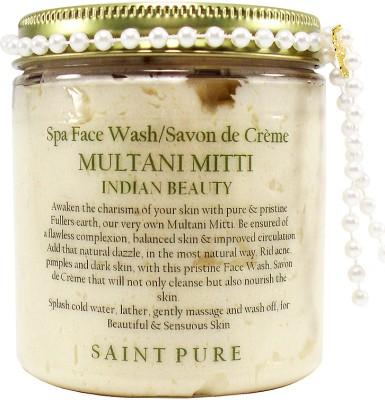 Saint Pure Multani Mitti Indian Beauty  Face Wash
