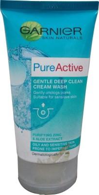 Garnier Pure Active Gentle Deep Clean Cream Face Wash