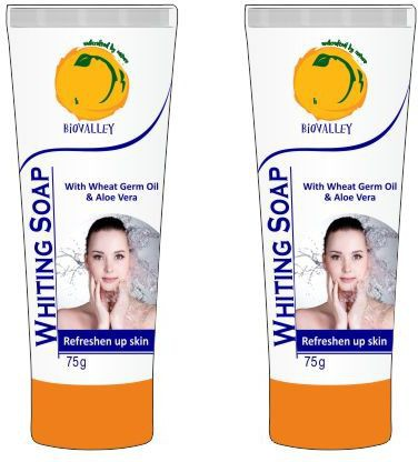 BioValley Natural Whiting  Face Wash(150 g)
