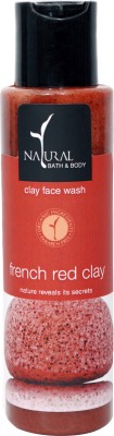 Natural Bath & Body French Red Clay  Face Wash