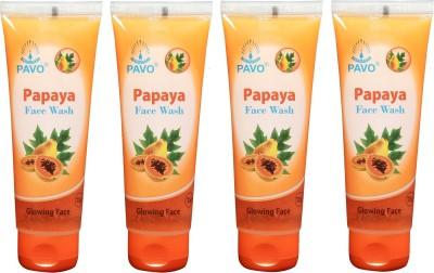 Pavo Papaya Glowing Face Wash
