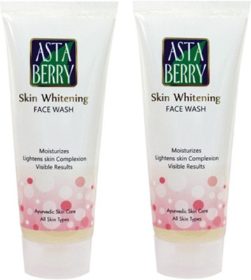 Astaberry Skin Whitening Scrub-Pack of 2 Face Wash