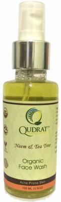 Qudrat Organic - Neem & Tea Tree Face Wash