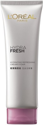 L,Oreal Paris Hydrafresh Foaming Cream, Face Wash