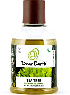 Dear Earth Tea Tree Purifying Face Wash