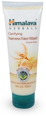 Himalaya Fairness Kesar Face Wash Instant Glow Face Wash