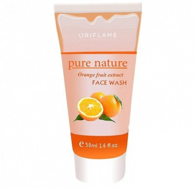 Oriflame Sweden Pure nature Orange Fruit Extract  Face Wash