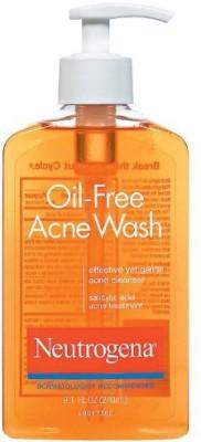 Neutrogena Oil-Free Acne Wash Face Wash