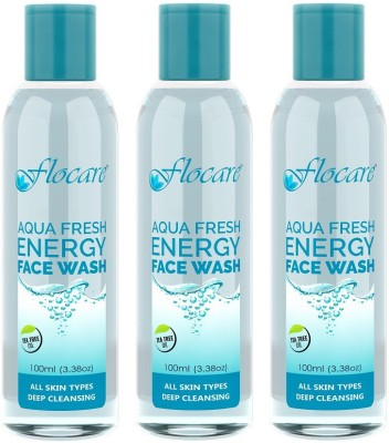 Flocare Aqua Fresh Energy (Set of 3) Face Wash