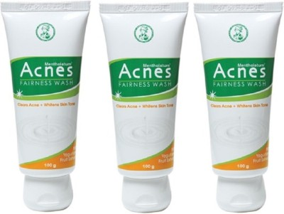 Acnes Fairness Wash Pack of 3 (100 g each) Face Wash