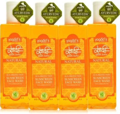 VAGAD,S Khadi Sun-Protection Sunscreen Face Wash