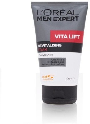L,Oreal Paris Men expert New VITA LIFT revitalising foam Face Wash