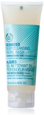 The Body Shop Deep Cleansing Seaweed  Face Wash