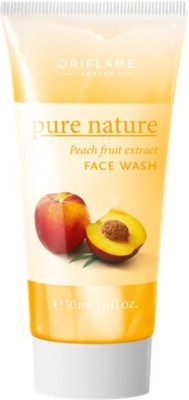 Pure nature Peach Fruit Extract Face Wash