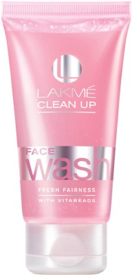 Lakme Clean-up Fresh Fairness  Face Wash