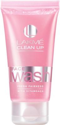 Lakme Clean-up Fresh Fairness  Face Wash