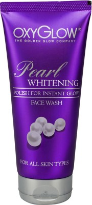 Oxyglow Golden Glow Pearl Whitening  Face Wash