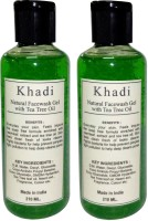 Khadi Herbal Trea Tree Face wash- Twin Pack Face Wash best price on Flipkart @ Rs. 610