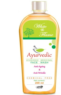white & flame Anti Ageing & Anti Wrinkle  Face Wash