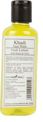 Khadi Manav Herbal Fresh Lemon with Neem & Tulsi Face Wash
