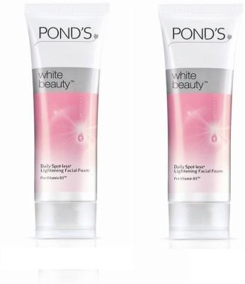 Pond's White Beauty Lightening Facial Foam  Face Wash