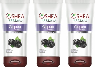 Oshea Herbals glopure Face Wash 60 g  available at Flipkart for Rs.345