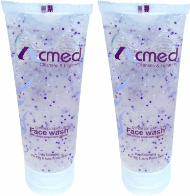 Acmed Pimple Care for Acne Prone Skin (Pack of 2) Face Wash
