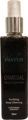 Inatur Herbals Charcoal Cleanser Face Wash