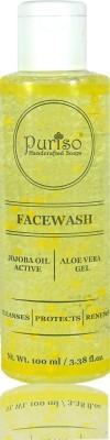 Puriso Jojoba Oil Active & Aloe Vera Gel Face Wash