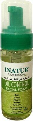 Inatur Herbals Oil Control Facial Foam Face Wash
