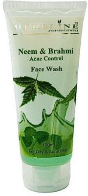 Herbline Neem & Brahmi Acne Control Face Wash