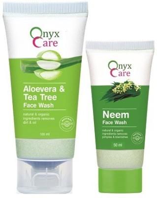 Onyx Care Aloevera & Tea Tree Face Wash