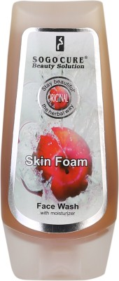 Sogo Cure Face Wash With Moisturizer (Apple Flavoured) 120 ML Face Wash