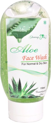 Glowing Buzz Herbal Aloe Face Wash